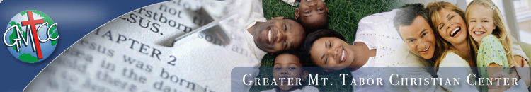 Greater Mount Tabor Christian Center Header